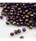 Fire Polish 3mm Iris Purple
