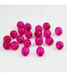 Fire Polish Fucsia 10 mm