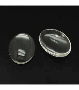 Kaboszon szklany 20x30mm - 4szt