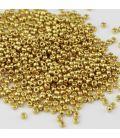 Miyuki Round 11 Duracoat Galvanized Gold - 10 g