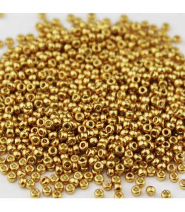 Miyuki Round 11 Duracoat Galvanized Yellow Gold - 10g