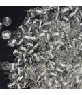 Fire Polish 3mm Silver Lined Crystal