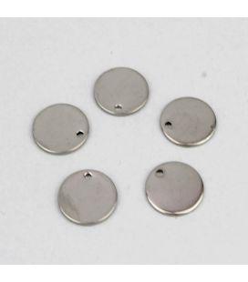 Blaszka okrągła ze stali szlachetnej 11mm - 5szt