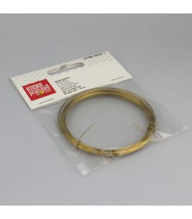 Drut mosiężny 0.6mm - 10m