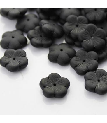 Kwiatek czeski matowy 15mm - 20szt