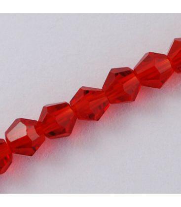 Kryształki bicone fasetowane 4mm - 1szn