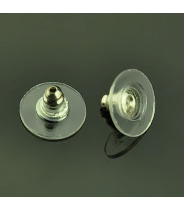 Baranki z metalu i silikonu 8x12mm - 40szt