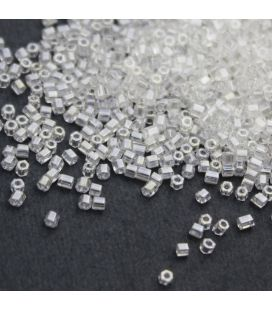 TOHO Hexagon 11/0 Transparent Lustered Crystal - 30g