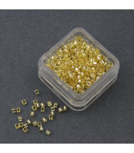 Miyuki Cube 1.8mm Silver Lined Gold - 5g
