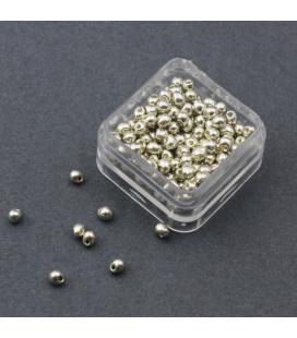 Miyuki Drop 3,4mm Galvanized Silver - 10g