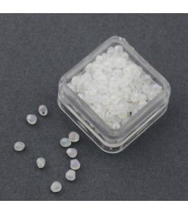 Miyuki Drop 3,4mm Matte Transparent Crystala AB - 10g