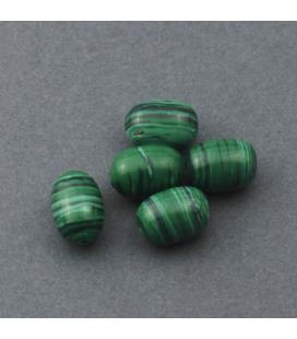Malachit syntetyczny 15x10mm - 5szt