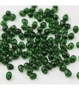 Miyuki Drop 3,4mm Picasso Transparent Green - 10g