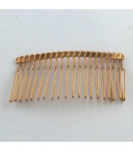 Grzebień z metalu 37x77 - 3szt