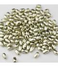 Miyuki Long Drop 3x5,5mm Duracoat Galvanized Silver - 10g