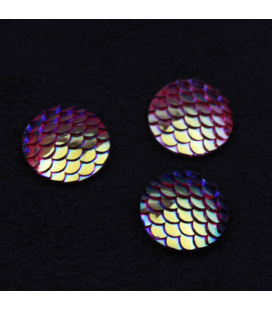 Kaboszon akrylowy 18x25mm - 2szt