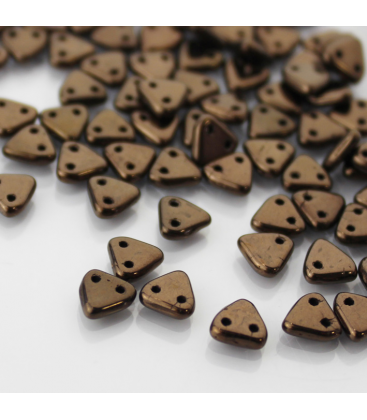 CzechMates Triangle 6mm Dark Bronze - 10g