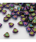 CzechMates Triangle 6mm Iris Purple - 10g