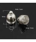 Wklejka ozdobna dzwonek 5mm - 50szt