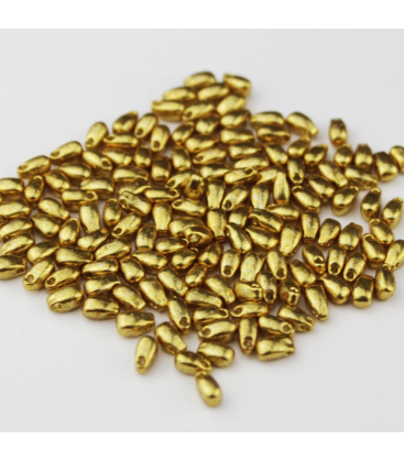 Miyuki Long Drop 3x5,5mm Duracoat Galvanized Gold - 10g