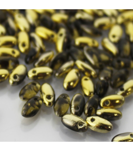 Rizo 2,5x6mm Black Diamond Amber - 10g