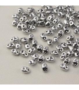 MiniDuo 2.5x4mm Silver - 5g