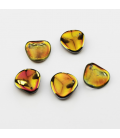 Rose Petals 14x13mm Crystal Marea - 15szt