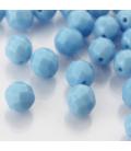 Fire Polish 8mm (loose) Blue Turquoise - 30szt