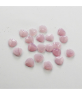 Rose Petals 8x7mm Opaque Pink - 30szt