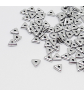 CzechMates Tri-Beads 4mm Aluminium Silver - 5g