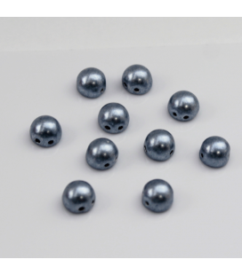 CzechMates Cabochon 7mm  Saturated Metallic Airy Blue - 10szt