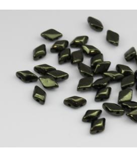 GEMDUO 8/5 mm Luster - Metallic Olivine - 5 gram