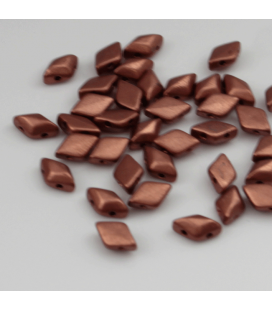 GEMDUO 8/5 mm Matte - Metallic Bronze - 5 gram