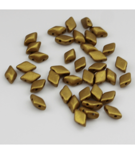 GEMDUO 8/5 mm Matte - Metallic Aztec Gold - 5 gram