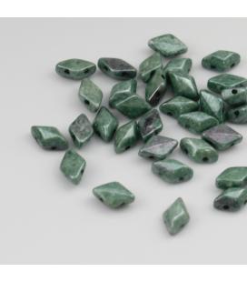 GEMDUO 8/5 mm Luster - Green - 5 gram