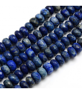 Lapis lazuli oponka fasetowana 7