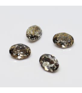 Cyrkonia kryształek owalny 14x10mm - 1szt