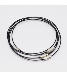 Baza do bransoletki czarna 23,5 cm - 1szt