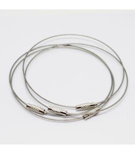 Baza do bransoletki srebrna 23,5 cm - 1szt