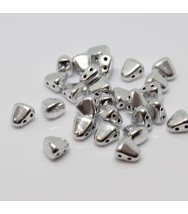CzechMates Tri-Beads 4mm Amethyst Azuro - 5g