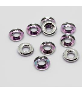 Glass Rings 10mm - Chrysolite Capri Gold