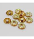 Glass Rings 10mm - Topaz AB