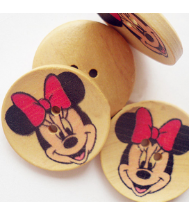 Guzik  MICKEY MOUSE 30mm - 5szt