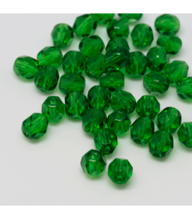 Fire Polish 6mm Green Emerald 2 - 60szt
