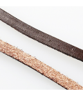 Rzemień skórzany naturalny płaski 5mmx2mm - 1m