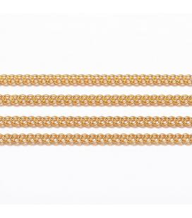Łańcuszek ze stali szlachetnej 1x1mm - 50cm